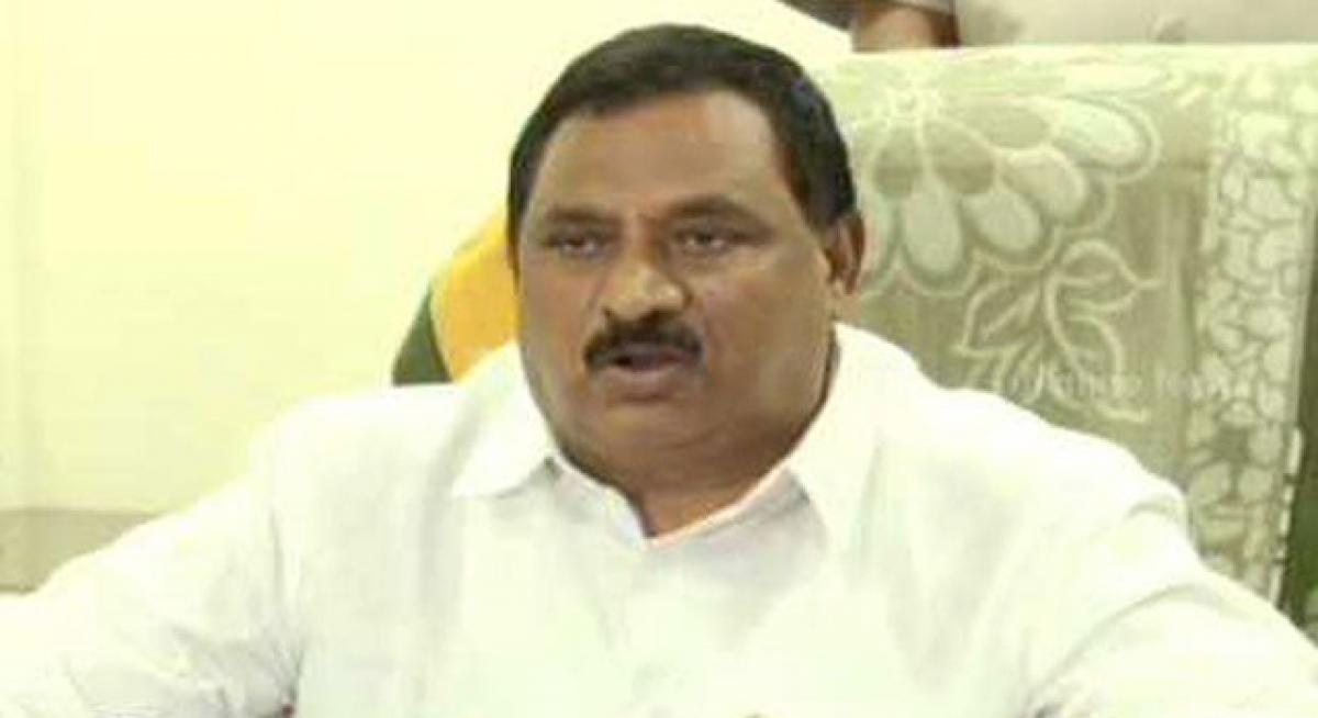 AP deputy CM Chinnarajappa dares Telangana govt to book Chandrababu
