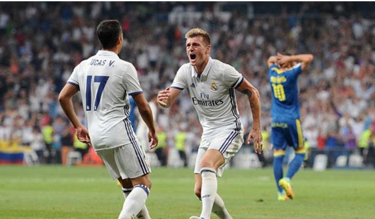 Kroos nets winner for Real Madrid