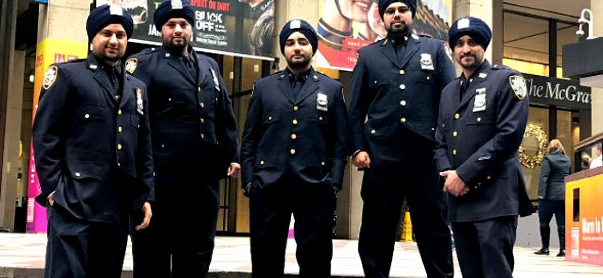 NYPD to allow Sikh officers to wear turbans, beards
