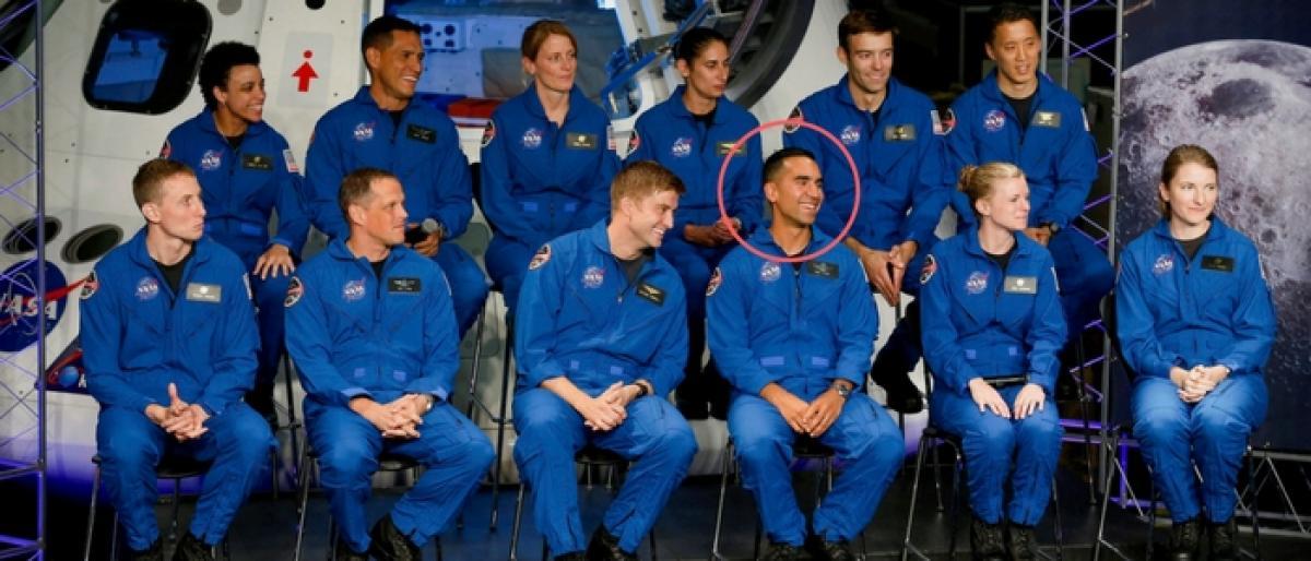 Telugu makes it to NASA team Raja Chari chosen from 18,300 applicants