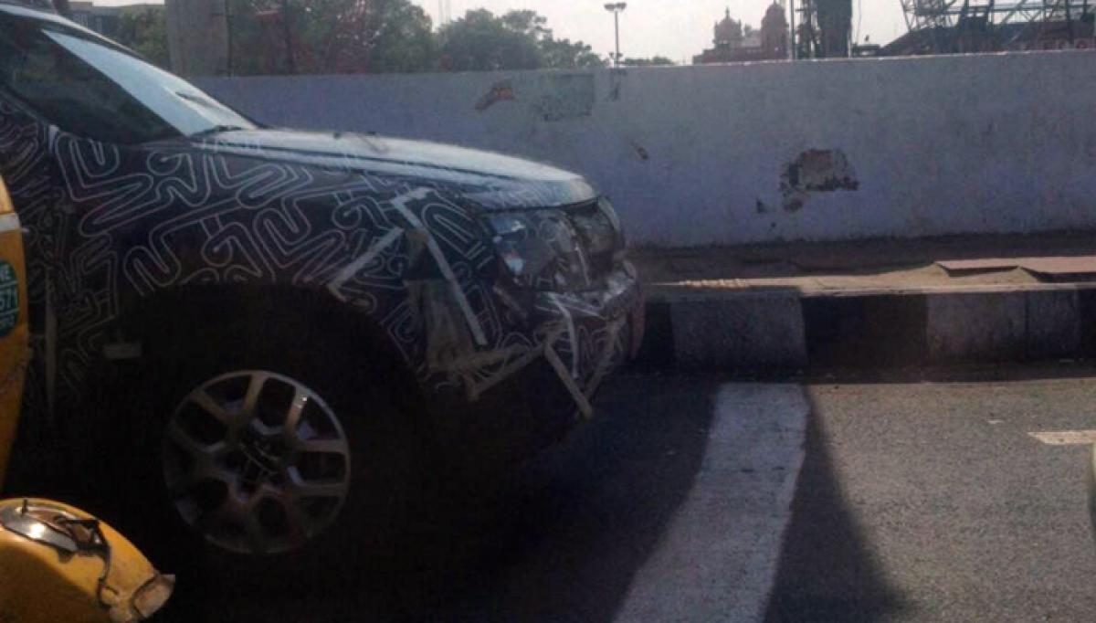 2016 Renault Duster spotted testing