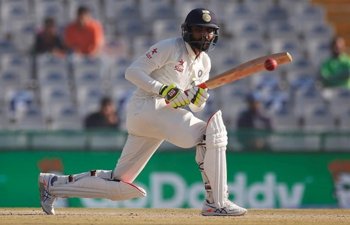 Jadeja keeps scoreboard ticking as India posts 354/7 at lunch against England