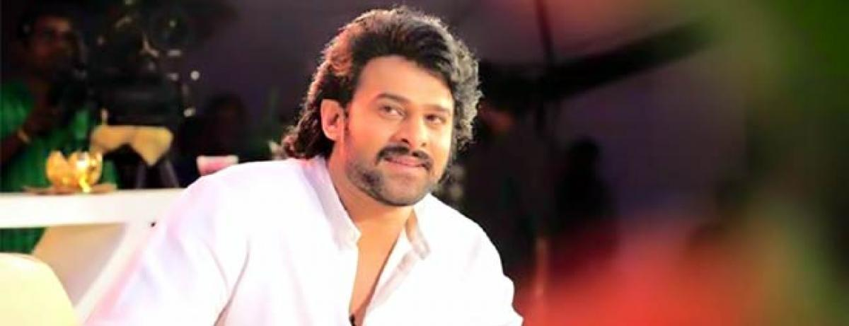 Baahubali Prabhas has a mini library with great collection of books