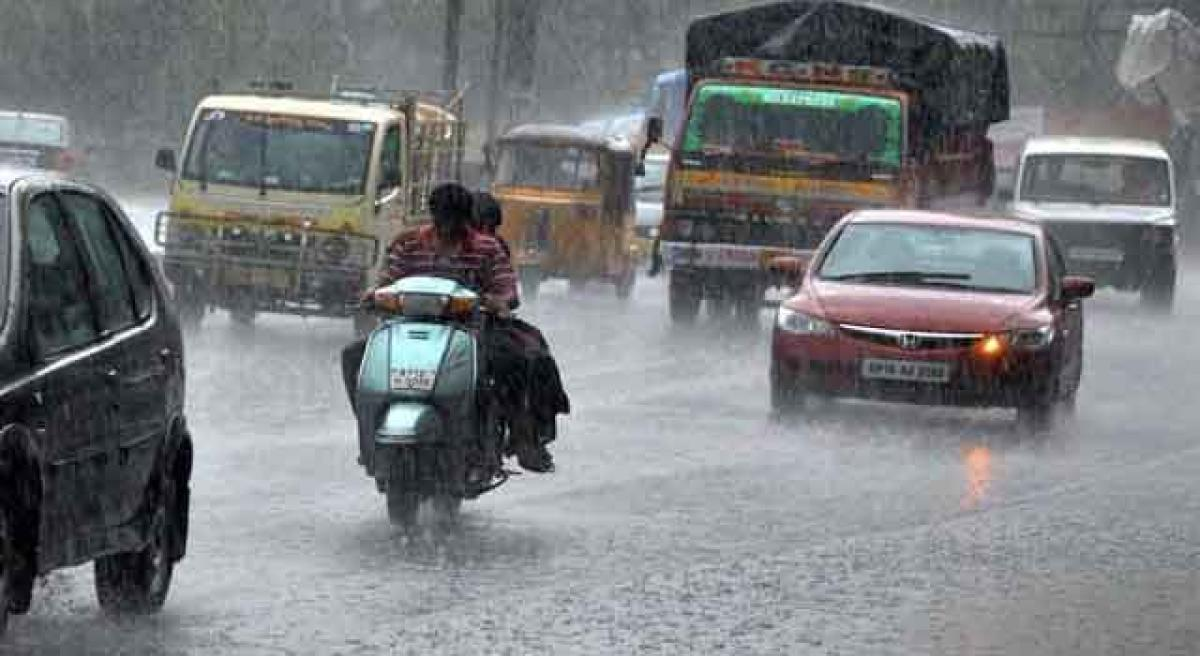 Heavy rain forecast for coastal AP, Seema