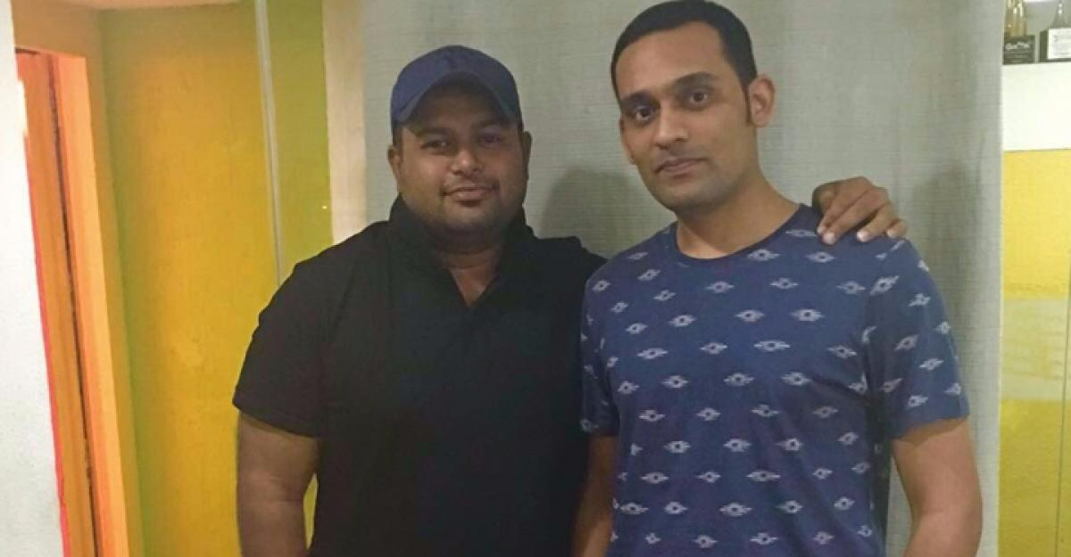 Thaman dances to Mickey's tunes