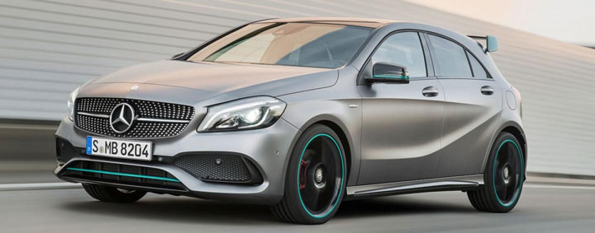 Mercedes-AMG A45 Petronas edition revealed