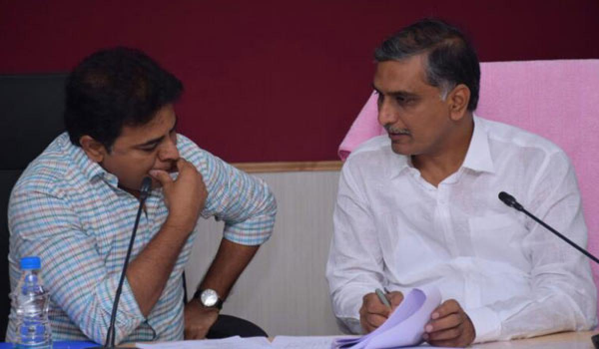 KTR asks officials to beautify lakes