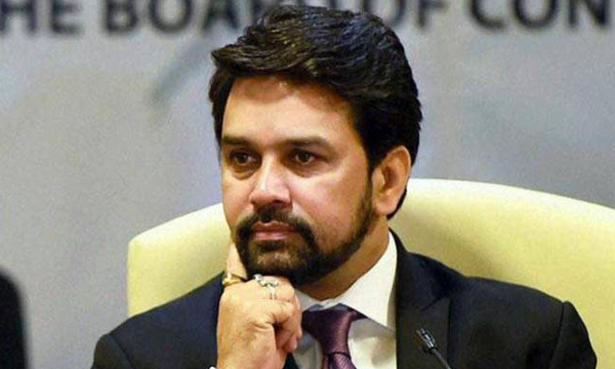 Anurag Thakur: Not asked ICC CEO to speak on government interference
