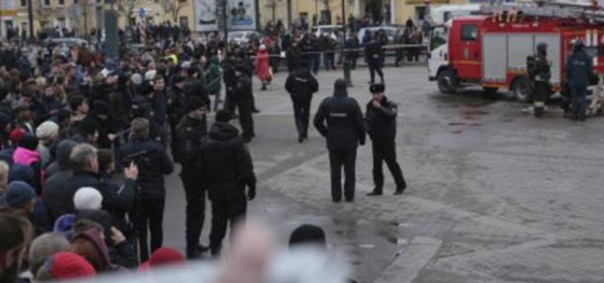 Russia probes act of terror after metro blast kills 10