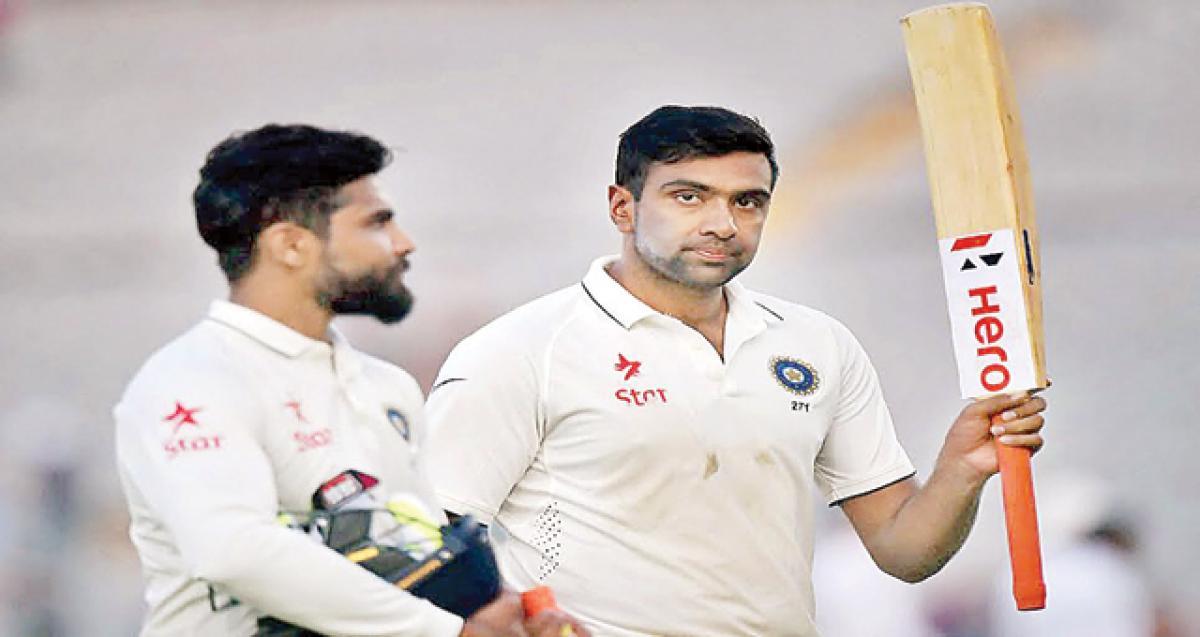 Ashwin, Kohli drop anchor