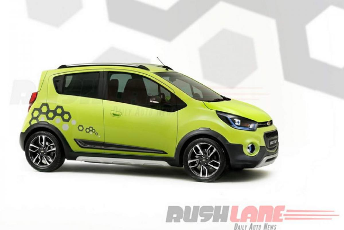 Spotted: 2017 Chevrolet Beat for India on M300 platform