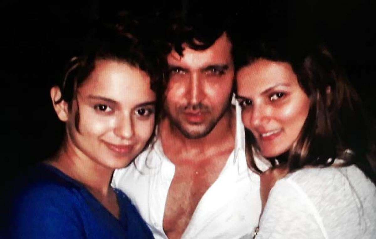 Leaked Hrithik-Kangna picture shot at Suzzanne