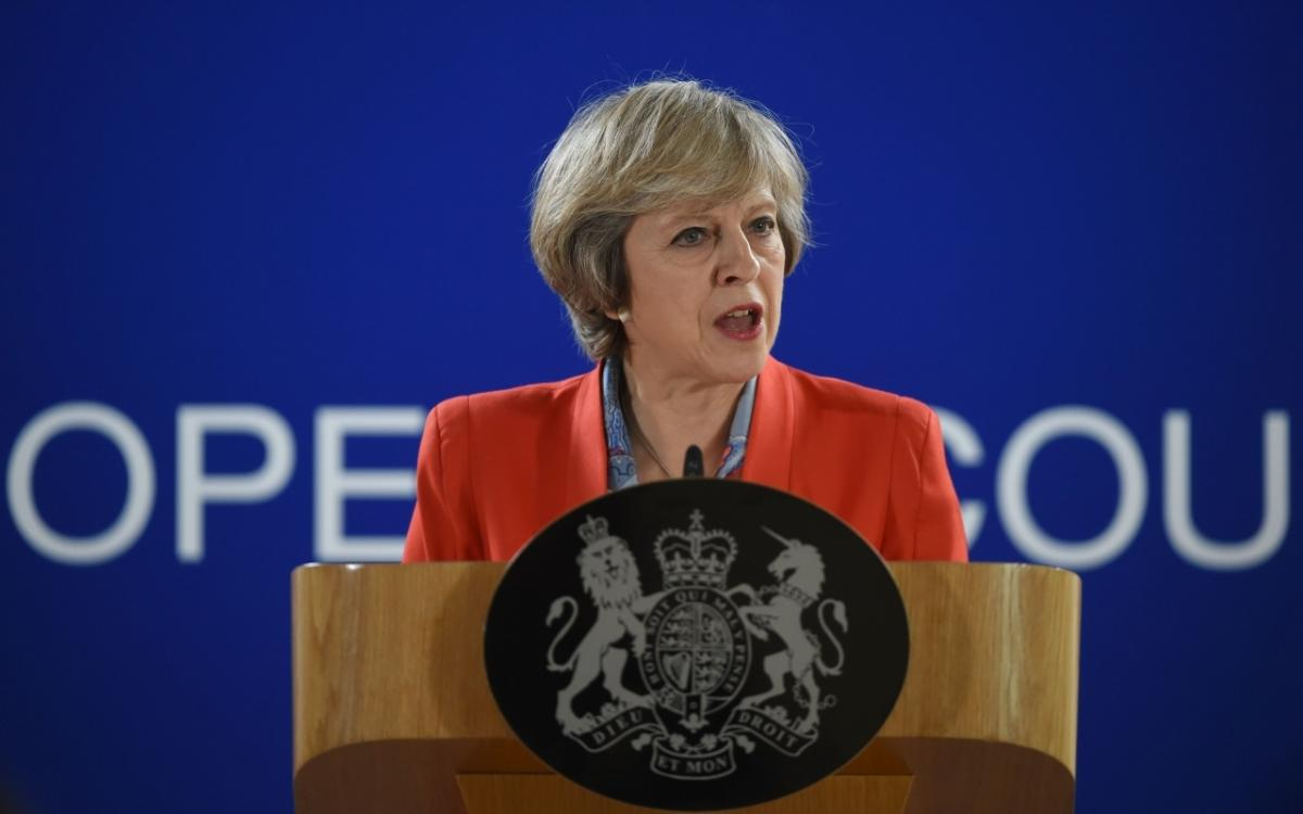 Theresa May faces public backlash over hard Brexit, poll finds