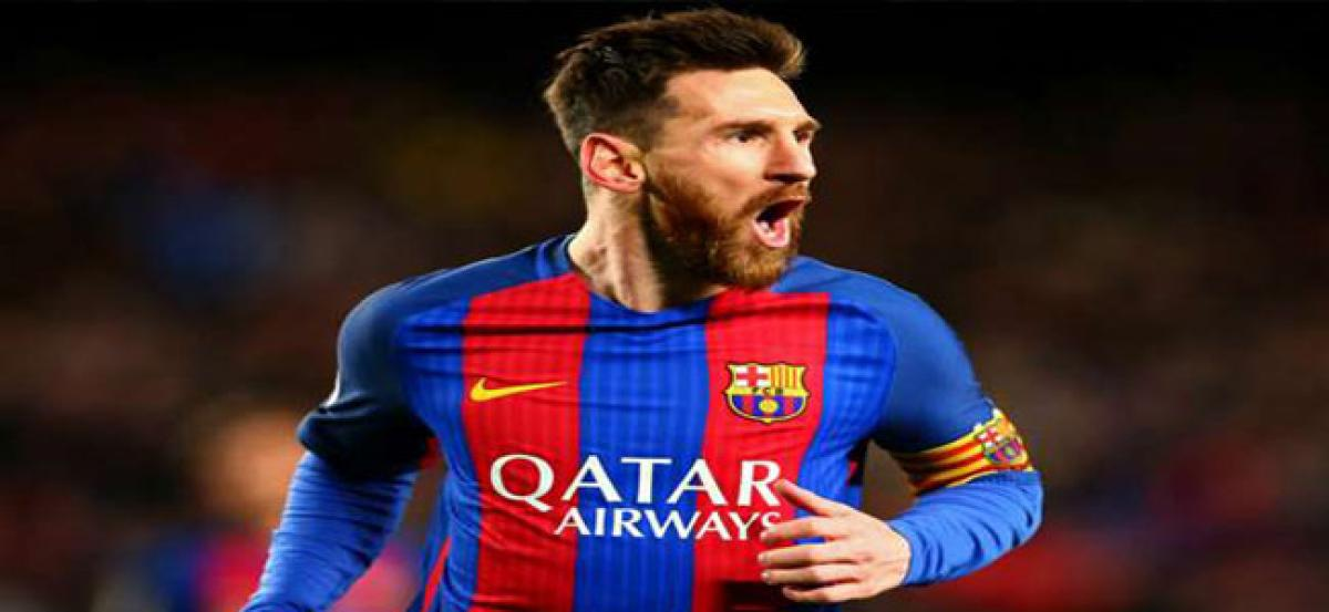 Barcelona stands by Lionel Messi