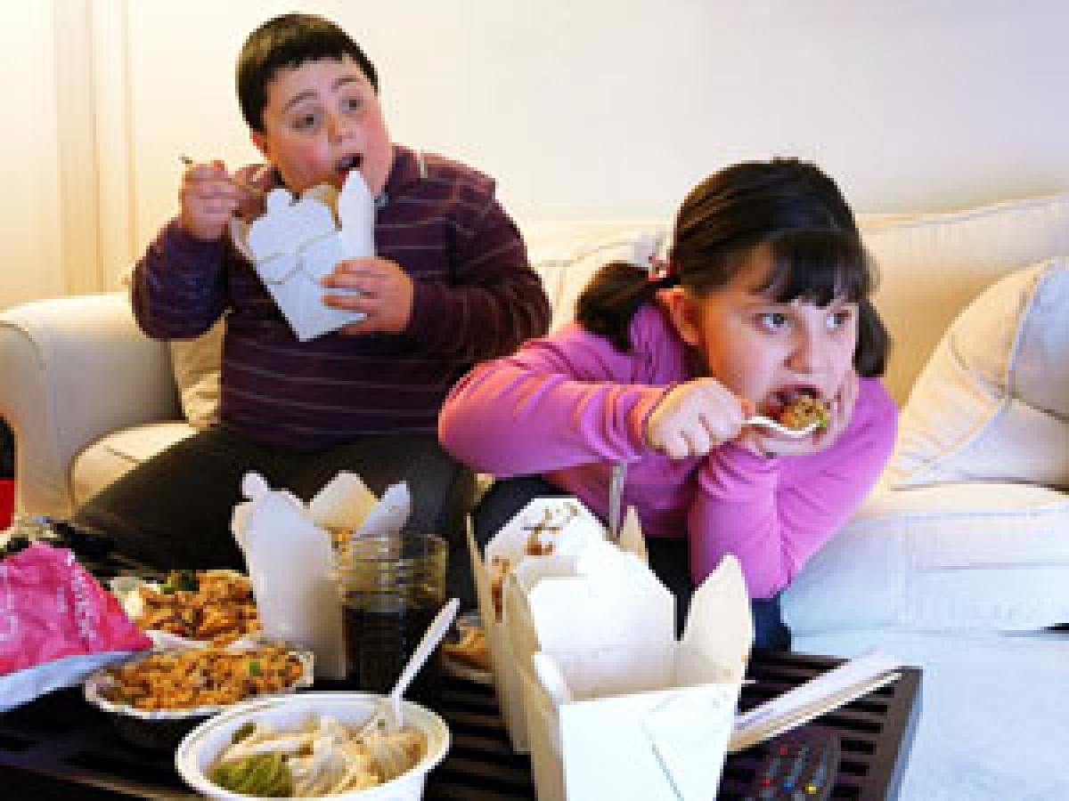 Impulsive brain area linked to obesity in kids