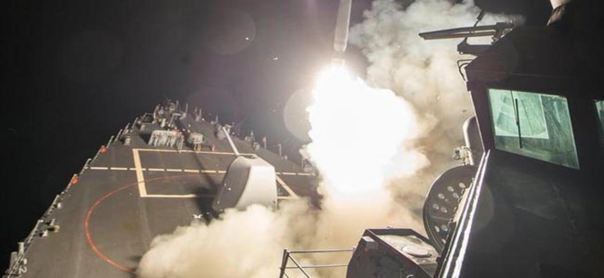 "North Korea calls U.S. strikes on Syria ""unforgivable"""