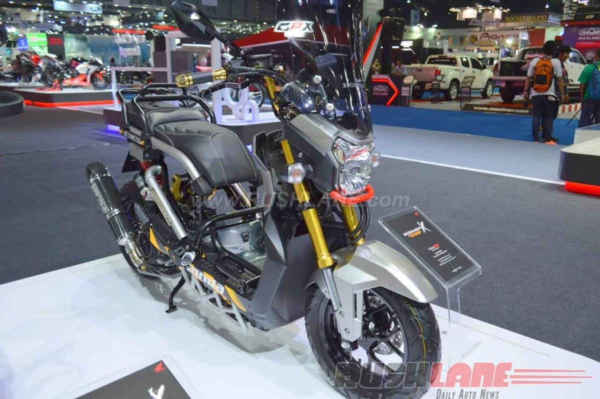 Check out: Honda Zoomer X Concepts features