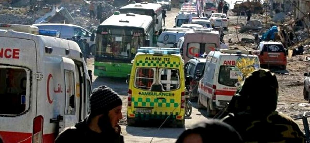 Aleppo evacuations gather pace as rebels, civilians leave: Monitors, rebel official