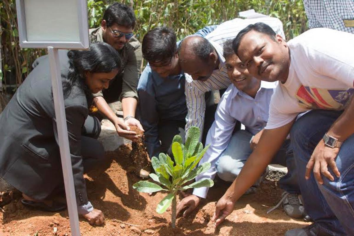 TS IT Association Participated in Haritha Haram