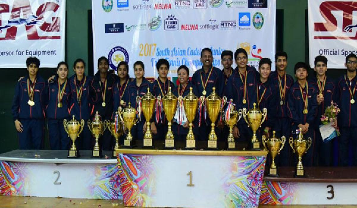 Indian paddlers reap South Asian golden harvest