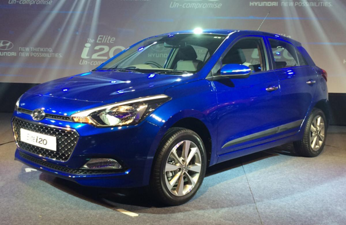Touchscreen infotainment for Elite i20 in July