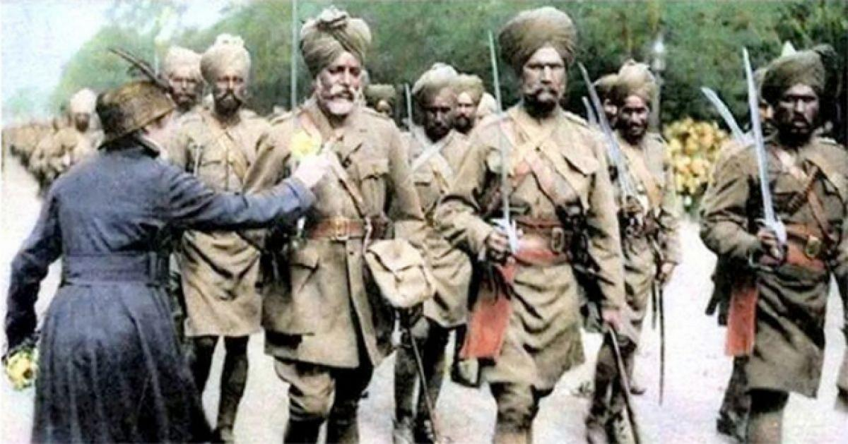Britain to showcase Indian soldiers