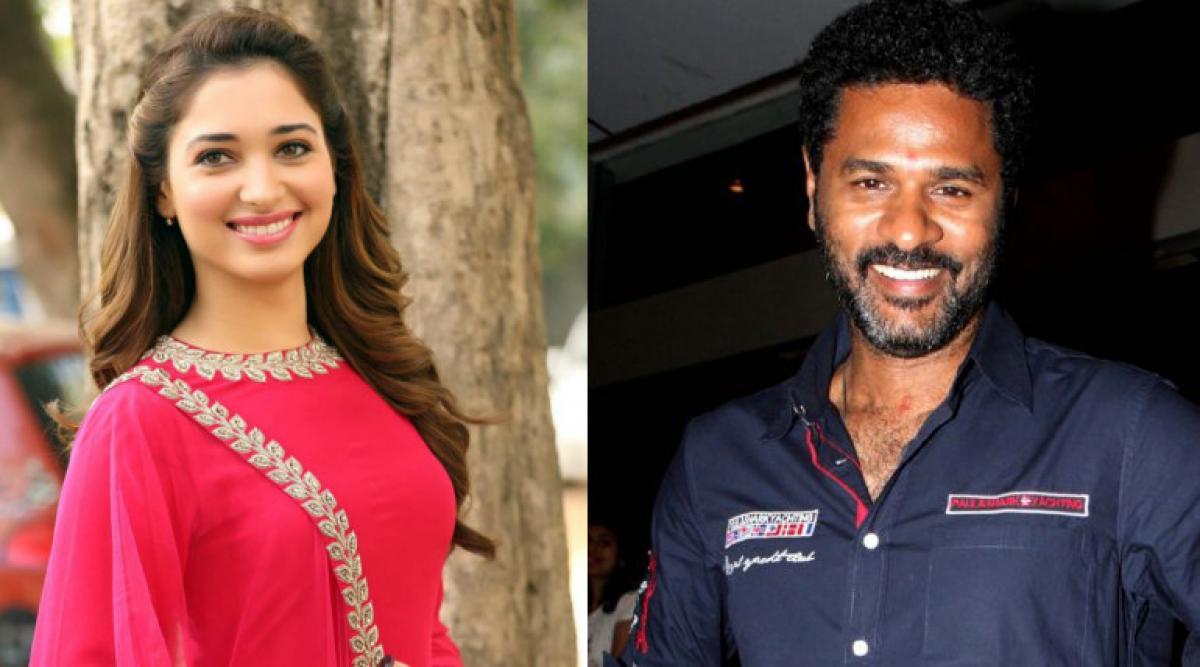 Tamannaah gears up for her next with Prabhu Deva