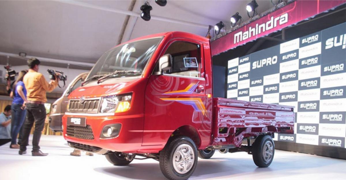 Mahindra launches Supro Van And Maxitruck