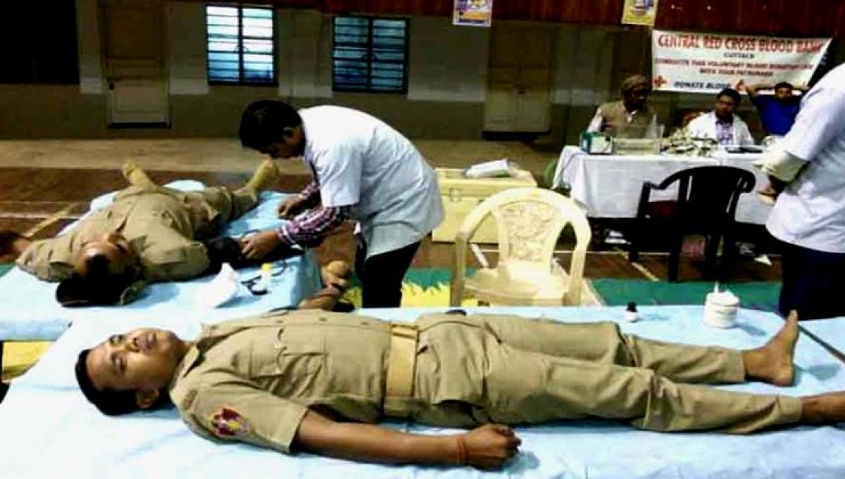 Dengue outbreak: Delhi Police holds blood donation camp