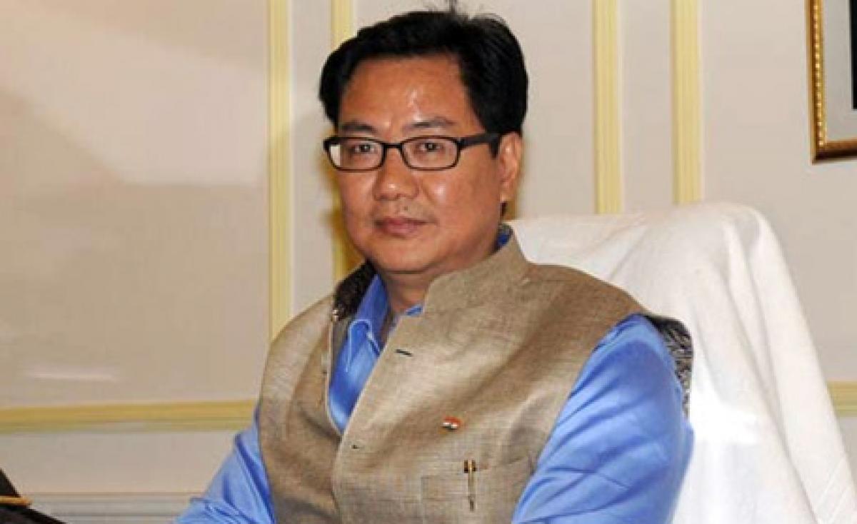 India shouldnt change political path on Tibet: Rijiju