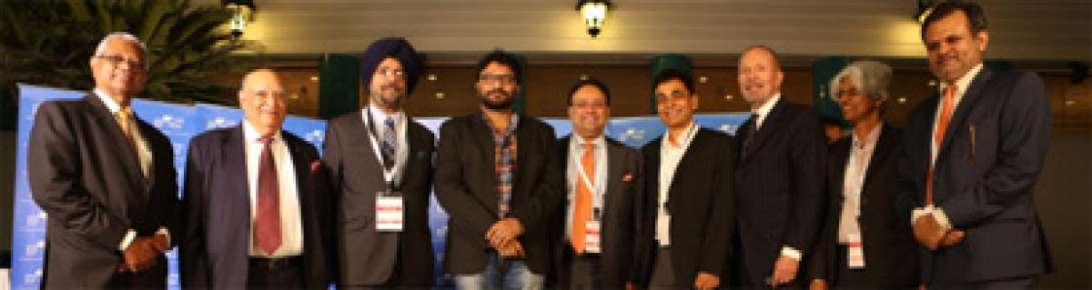 Minister Babul Supriyo gives away One Globe Awards 2016, conference inaugurated by Minister Rajyavardhan Rathore