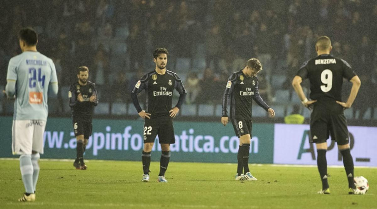 Real Madrid game at Celta postponed after stadium damaged in storm
