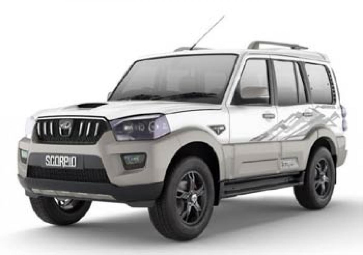 Mahindra launches Scorpio Adventure