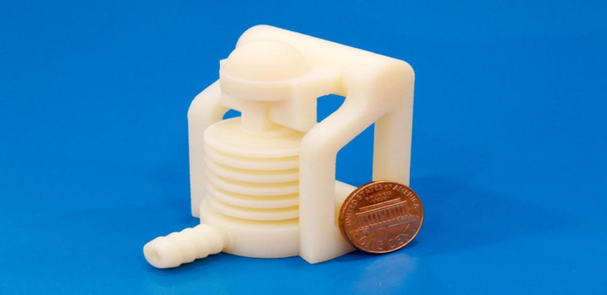 Robots made of 3D printed materials