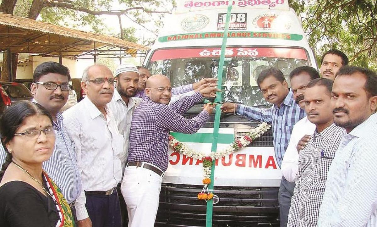 108 emergency ambulance services launched at SDLCE