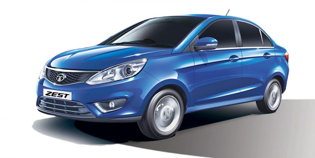 Tata Zest gets new 75PS diesel variants