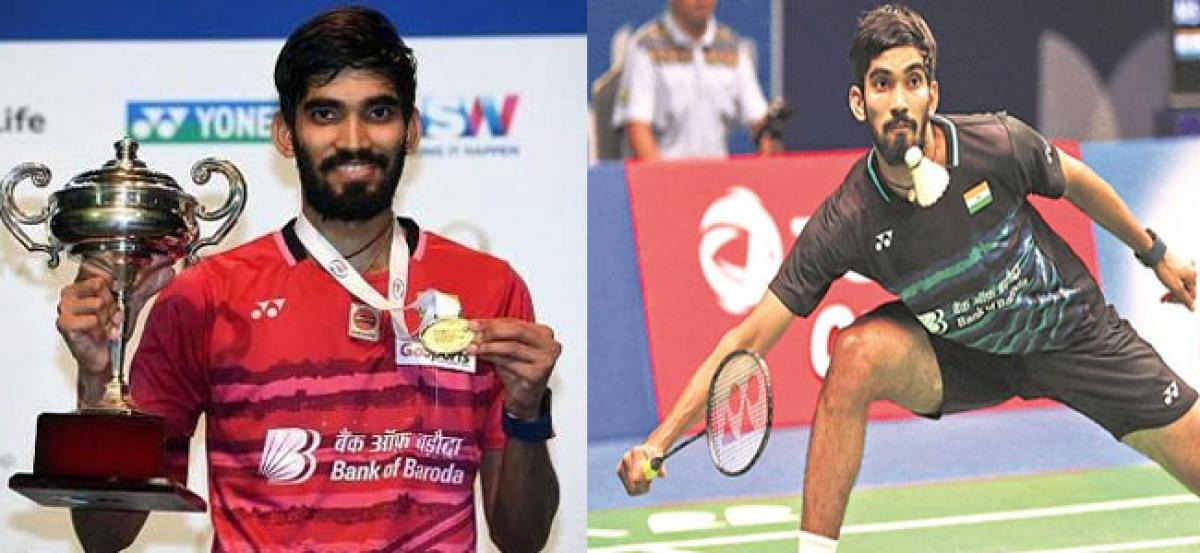 Super Olympic Sunday for Srikanth