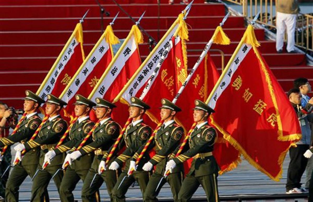 China marks Japan WWII defeat, shows rising power in parade