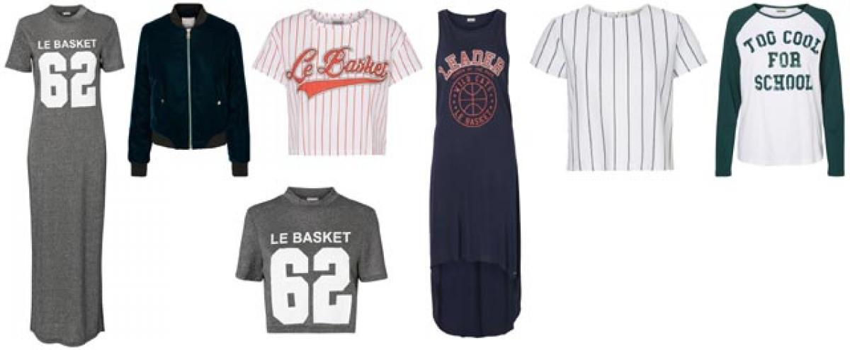 For sporty chic fashionistas