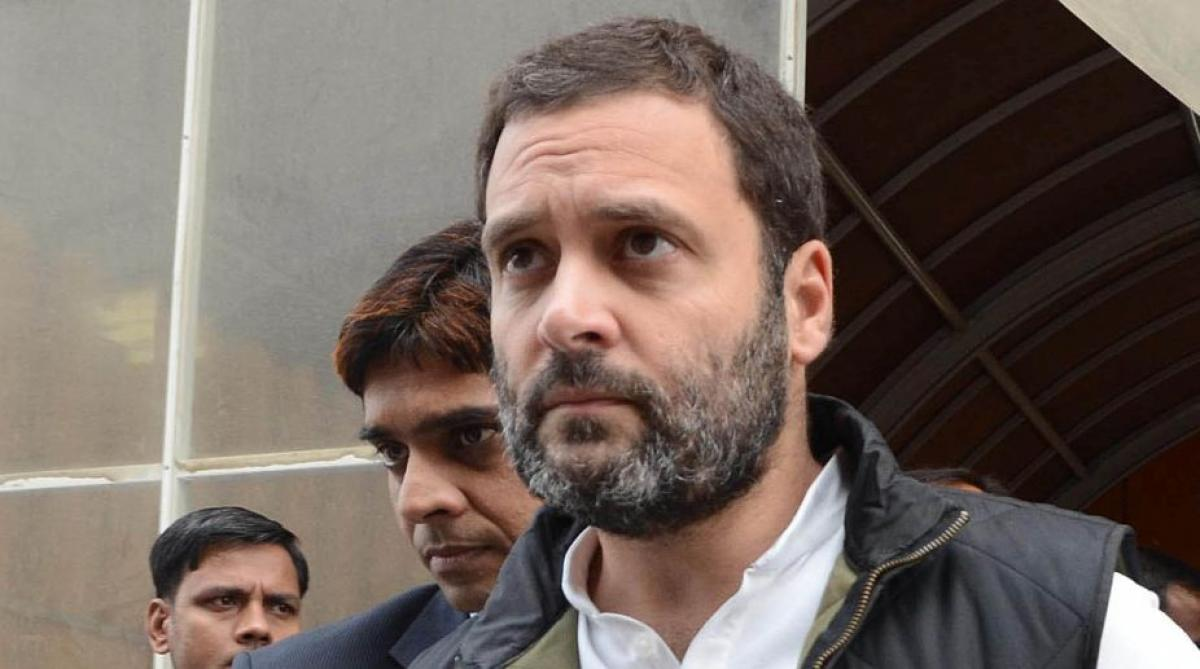Rahul Gandhi hits back at PM Modis SCAM jibe, says he is jittery due to Congress-SP alliance