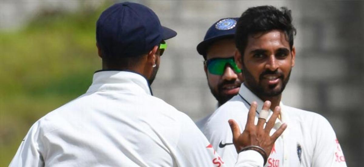 India dominate as Bhuvneshwar wrecks Windies
