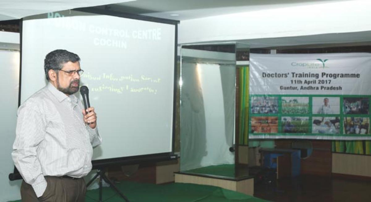 CropLife India raises awareness on participle poisoning