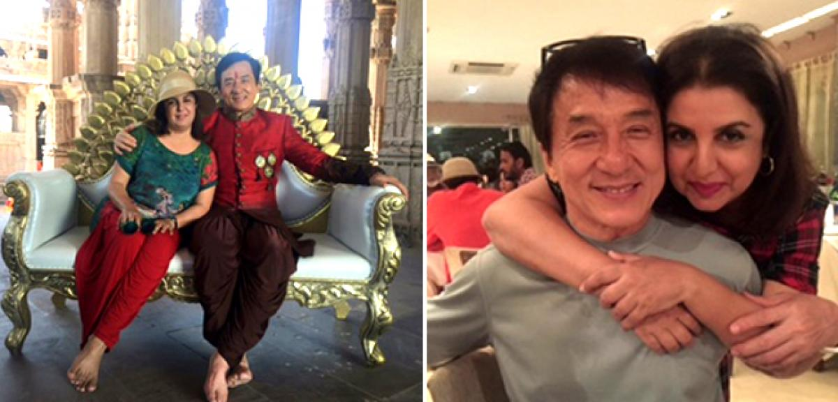 Farah Khan choreographs a big, happy, Bollywood style Chinese song for Jackie Chan!