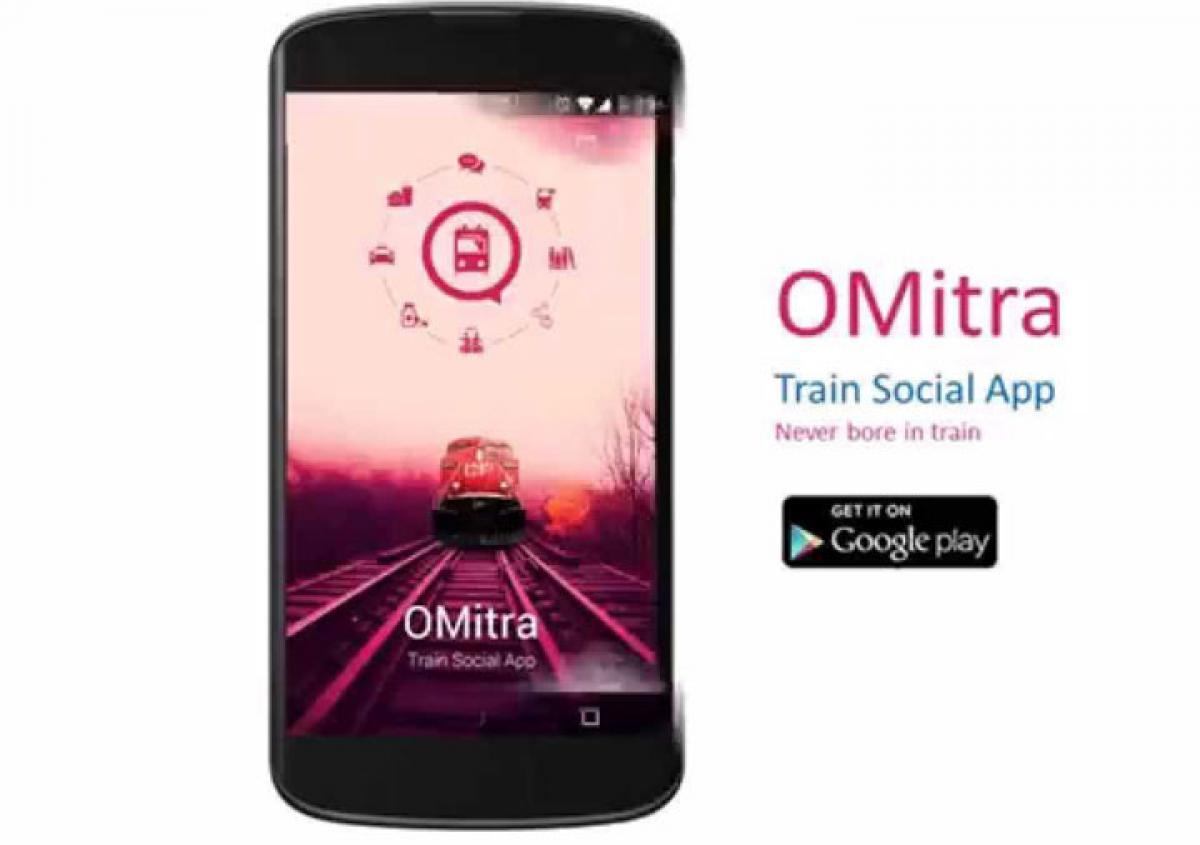 Order food on rail travel via OMitra