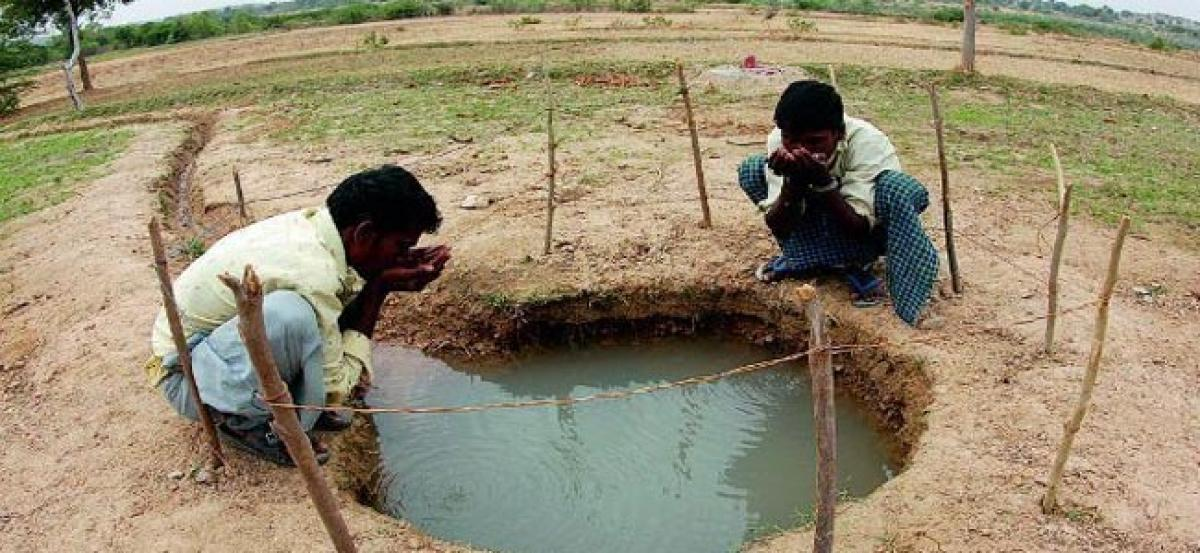 Groundwater levels increase.