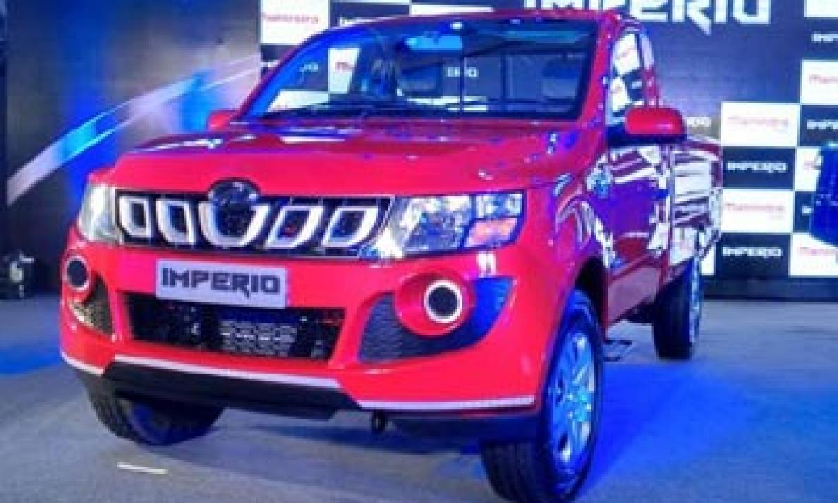 Mahindra Imperio pickup launched