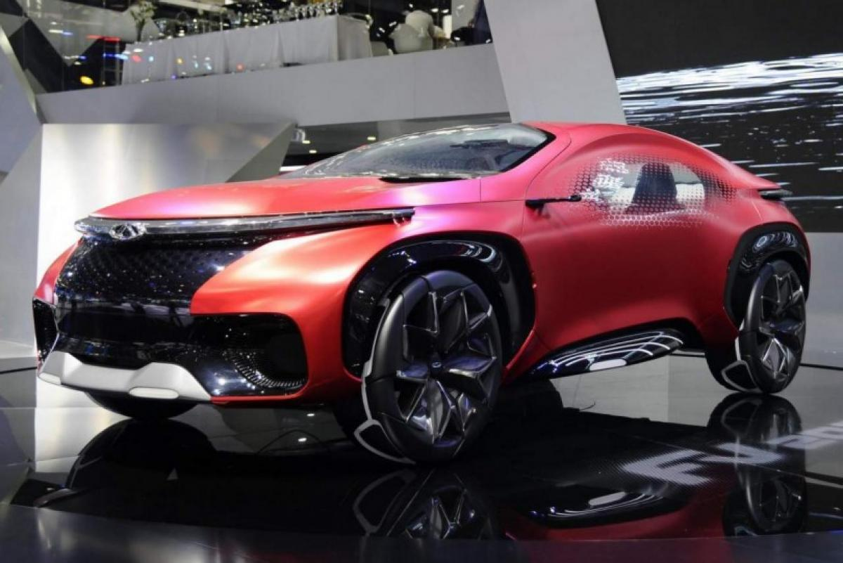 Beijing Auto Show gives a peek into Chery FV2030 concept