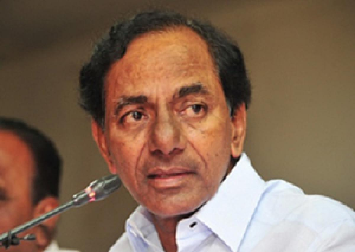 KCR exhorts students to look for self-employment