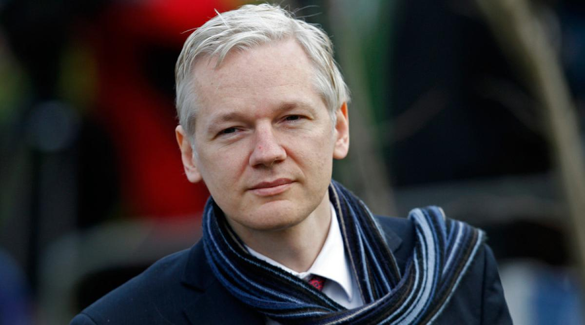 Russia hacking report was politically motivated, says WikiLeaks founder