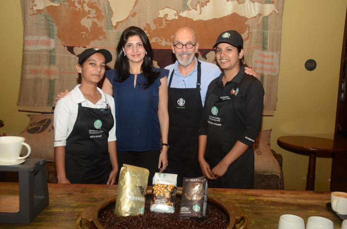 Starbucks Coffee Ambassador D. Major Cohen shares his passion for coffee and introduces the celebrated Flat White in India